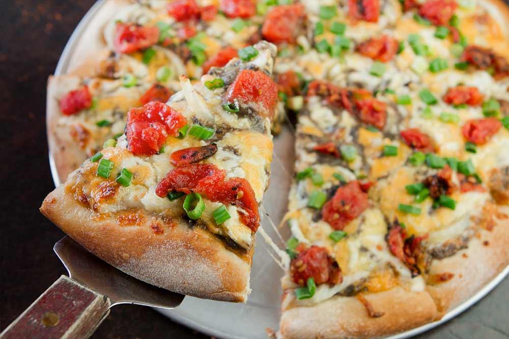 Acapulco Verde pizza